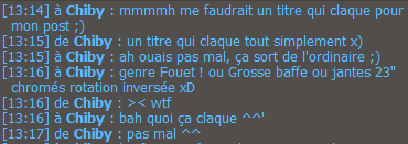 Le Bruit D'un Fouet Titre10