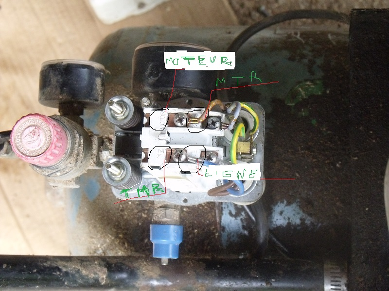 aide pour un compresseur D1310