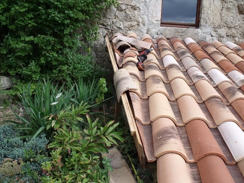 travaux toiture et realisation sas entre Dscf4529