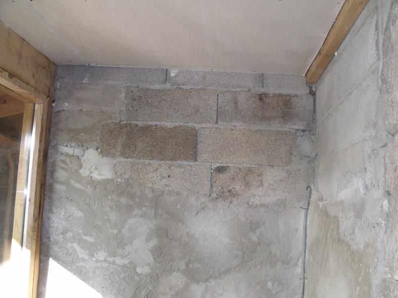 travaux toiture et realisation sas entre Dscf4532