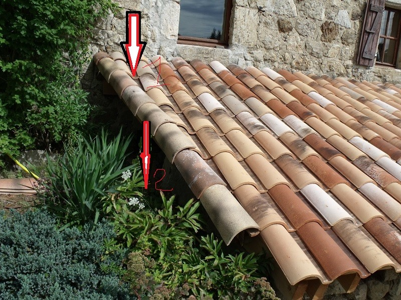 travaux toiture et realisation sas entre Dscf4533