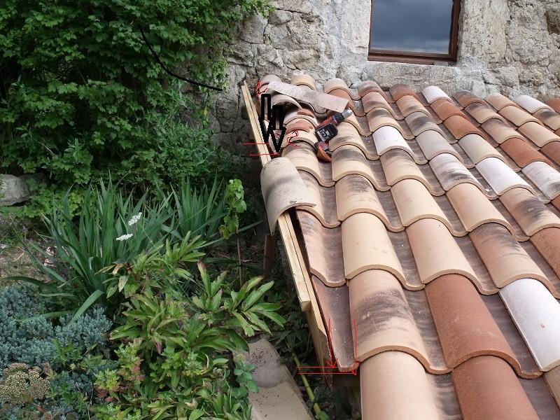 travaux toiture et realisation sas entre Dscf4534