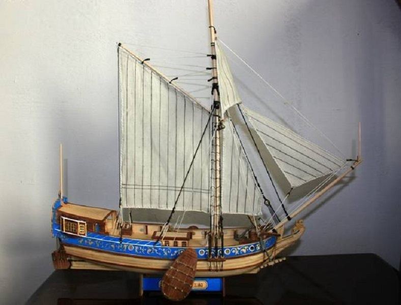 yacht holandais Wooden10