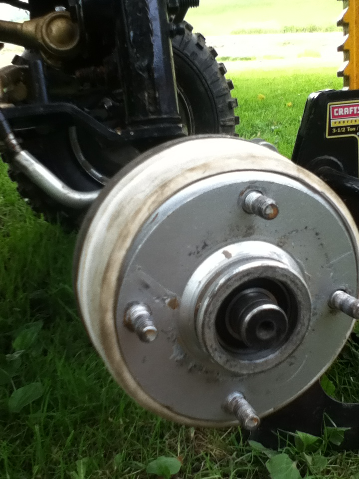 Front drum brake conversion for your atlt! Img_0722