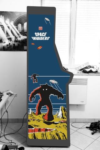 [WIP 95%] Borne d'arcade Golden Gum version Space Invaders! Dsc_7010
