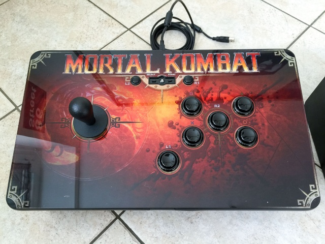 Modif Stick PS3 Mortal Kombat version Neo Geo  Img_0116