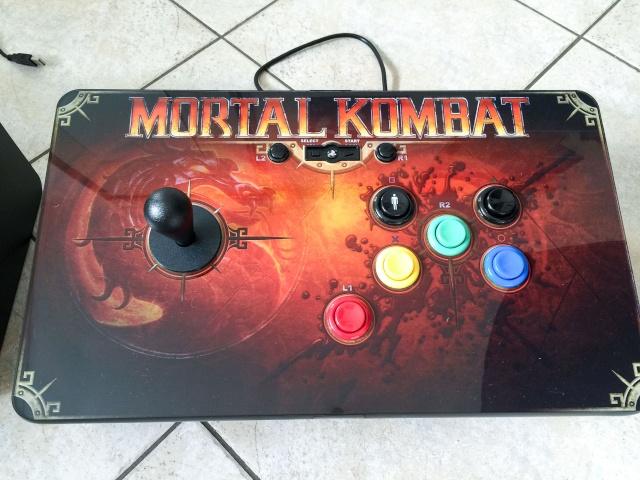 Modif Stick PS3 Mortal Kombat version Neo Geo  Img_0117
