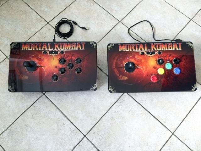 Modif Stick PS3 Mortal Kombat version Neo Geo  Img_0118
