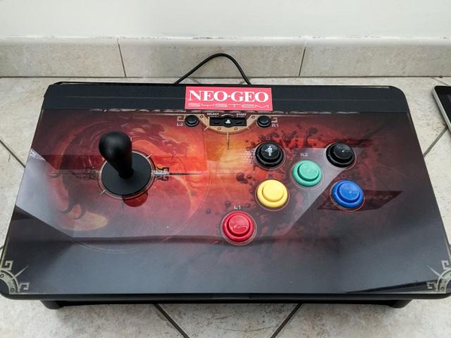 Modif Stick PS3 Mortal Kombat version Neo Geo  Img_0123