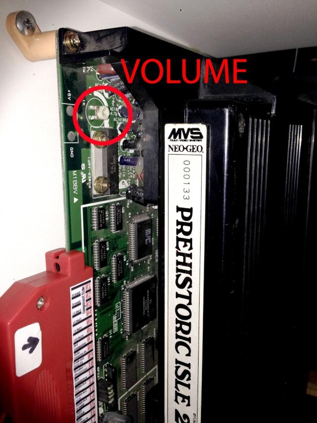 Problème de son slot MVS et Supergun Volume10