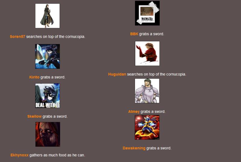 \o/Hunger Games \o/ 1a10
