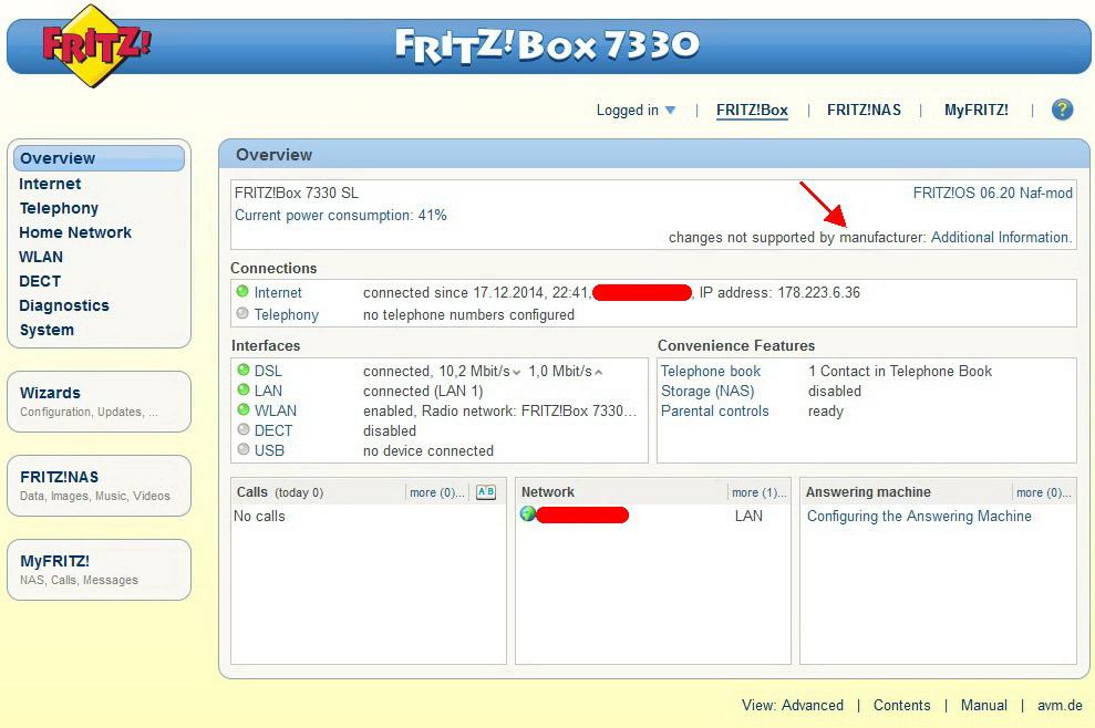 Fritz 7330 SL nuovo arrivo, cosa fare... - Pagina 2 7330sl10