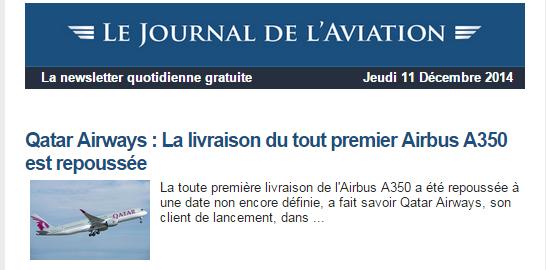 News Aéronautique 2014-124