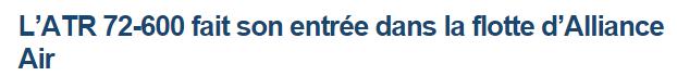 News Aéronautique 2014-130