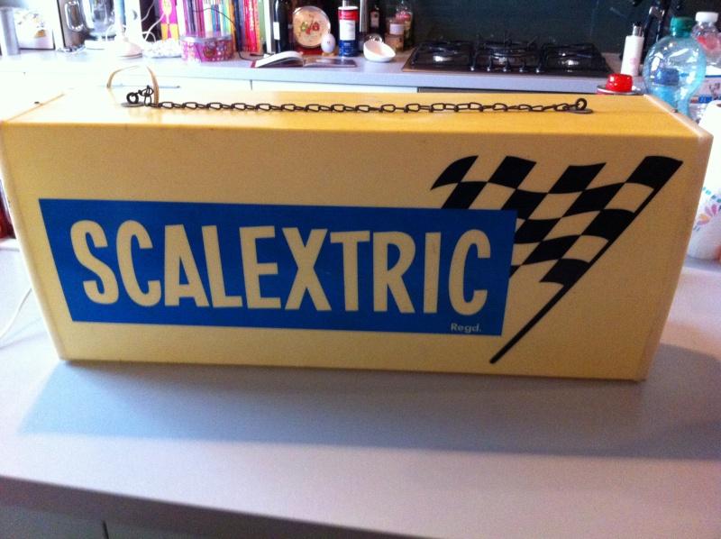 Enseigne lumineuse Scalextric - Vendu Photo_23