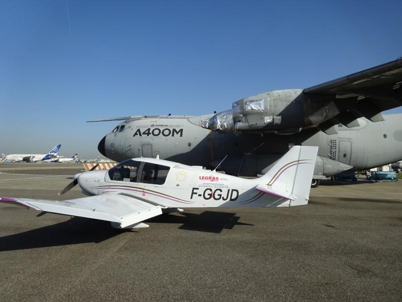 Visite des installations d'Airbus à Toulouse  //  Prix sécu du Défi 100 24 Dsc04013