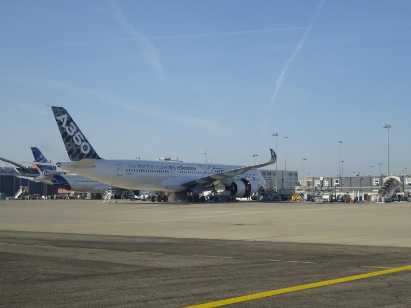 Visite des installations d'Airbus à Toulouse  //  Prix sécu du Défi 100 24 Dsc04014