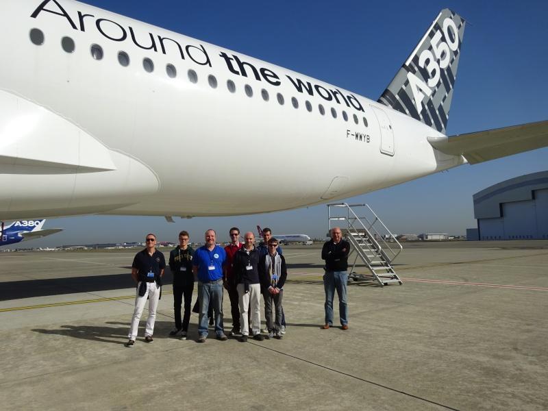 Visite des installations d'Airbus à Toulouse  //  Prix sécu du Défi 100 24 Dsc04015