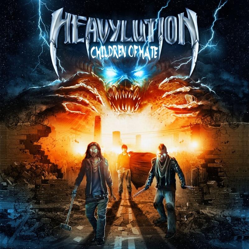 "HEAVYLUTION   ""Children of Hate""   (FEV 2015) Cover-10"