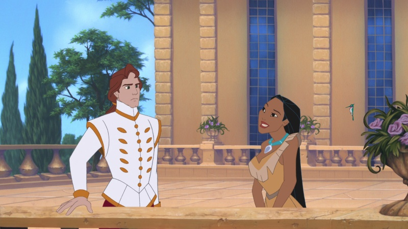 Pocahontas 2, and the animators thoughts Pocaho12