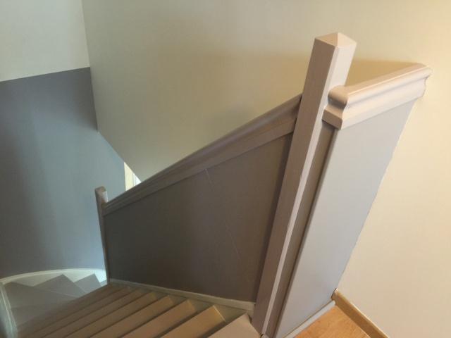 Escalier repeint et montée d'escalier relooke Img_0518