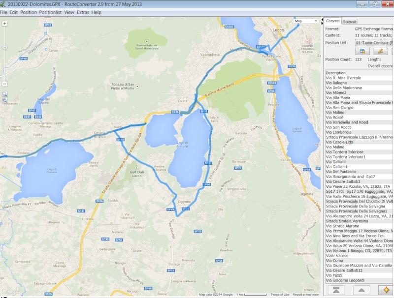 peut on créer des itinéraires sur itn et les utiliser dans un nuvi 2497 ? Captur11