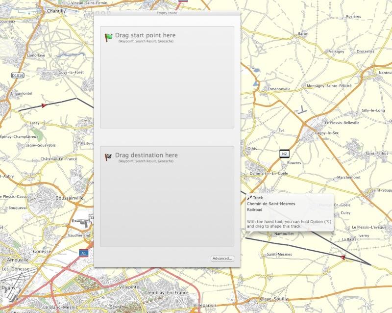 Difficultés pour création itinéraire simple Screen22