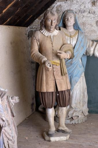 Saint-Isidore ou le costume Breton Aglise15