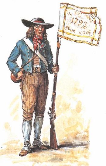 Planches de tenues de fantassins Vendéens Porte-10