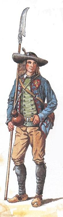 Planches de tenues de fantassins Vendéens Soldat10