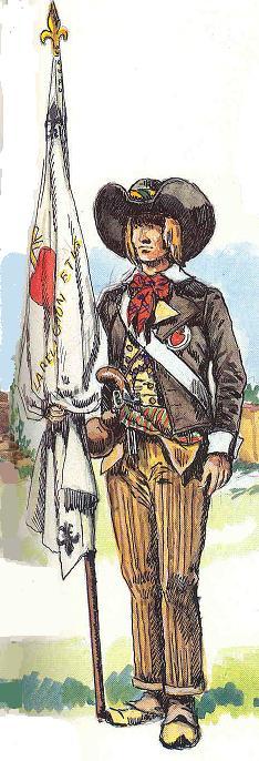 Planches de tenues de fantassins Vendéens Vendee12