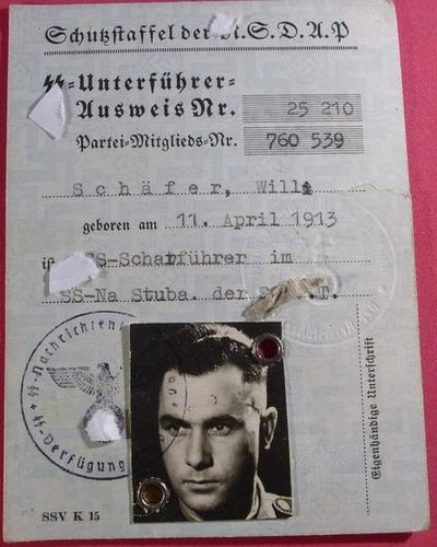 Ausweis SS 110