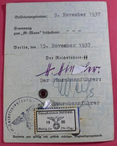 Ausweis SS 210