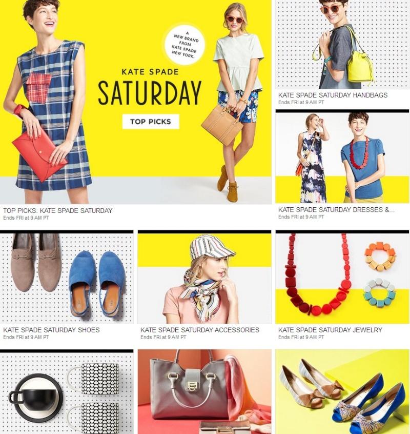 Стильные наряды и аксессуары Kate Spade Saturday на MyHabit. Ddnddn17