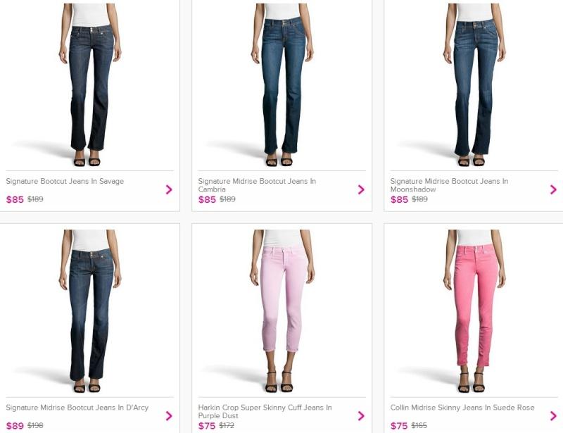 Vente-privee - джинсы Hudson, кроссовки Asics, сумки Katherine Kwei, сникерсы Calvin Klein. 70%. Ddnddn42
