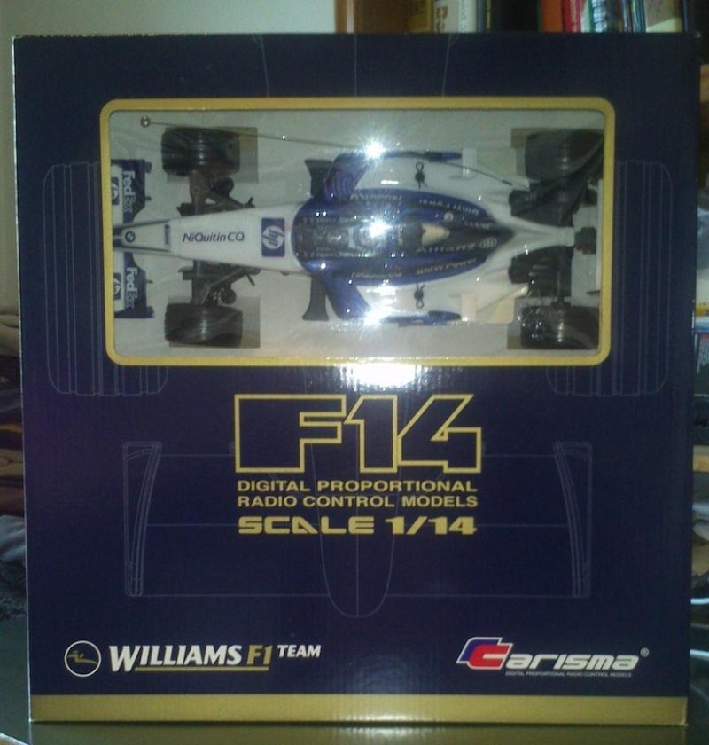 Macchina telecomandata Williams F1 Carisma (NUOVA) Macchi10