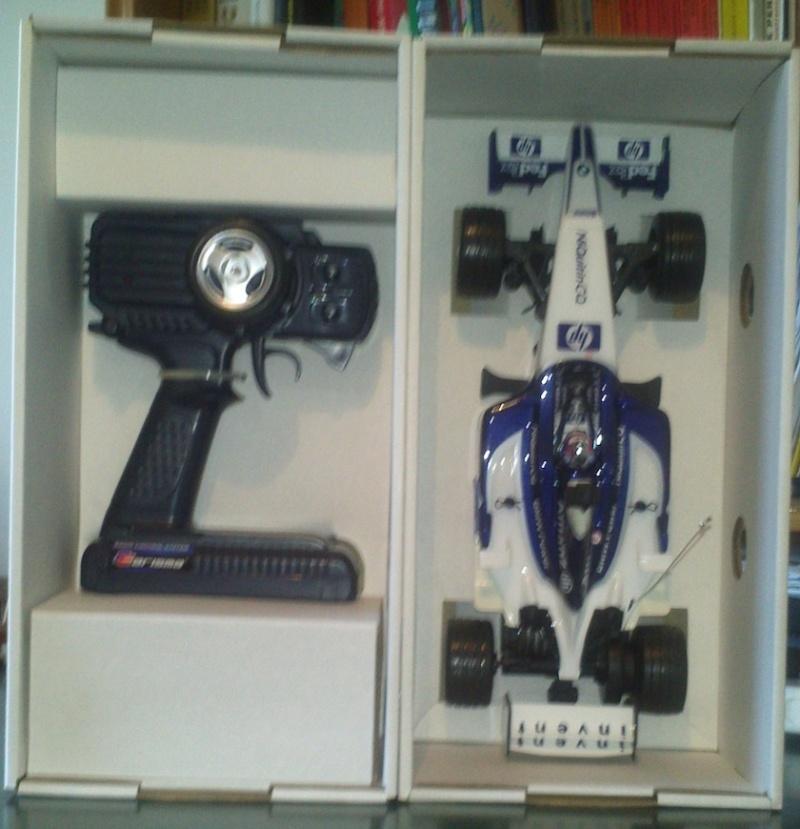 Macchina telecomandata Williams F1 Carisma (NUOVA) Macchi11