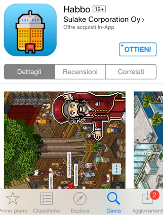 All habbo per iphone news habbo screen da iphone for Crea il tuo avatar arreda le tue stanze