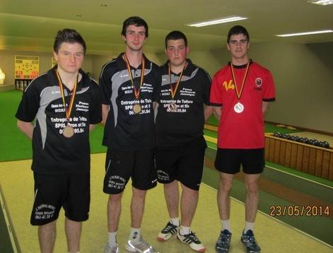 Finalistes ind 1m à Dampicourt Rivage Saison 13/14 Junior10