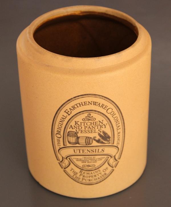 Stewart Pottery Original Earthenware Colonial Range Img_1737