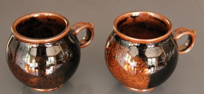 Clay Craft Round Mugs Wonderful Glaze Img_1925