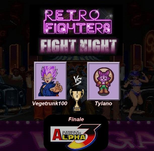 Palmarès événements Retro-Fighters Finale11