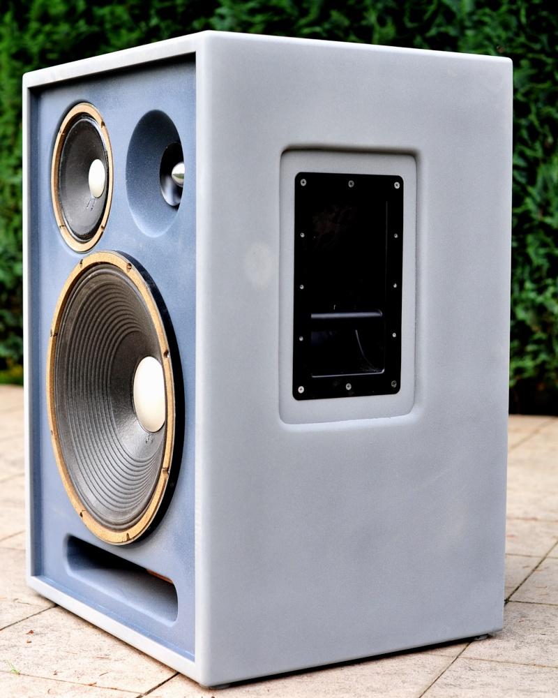 Réédition limitée de la   Will Audio C115 , full JBL Alnico  Dsc_1712