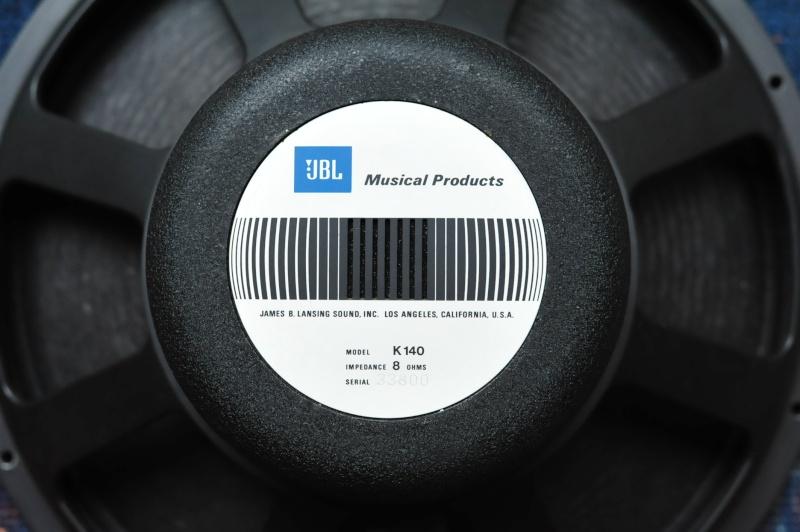 Réédition limitée de la   Will Audio C115 , full JBL Alnico  Dsc_1811