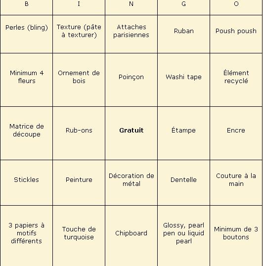 Juillet 2014 Défi ADS #49 - Défi Bingo par Coccinelle2 Bingo-10
