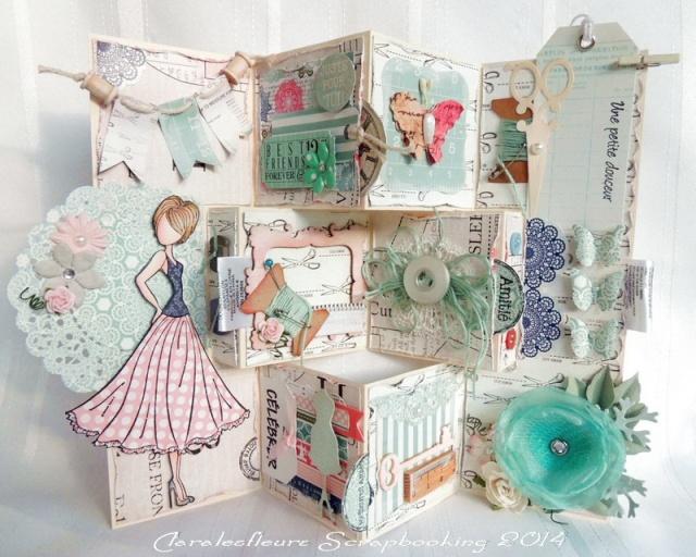 Kit du mois - Carterie : Sew Lovely Claral22