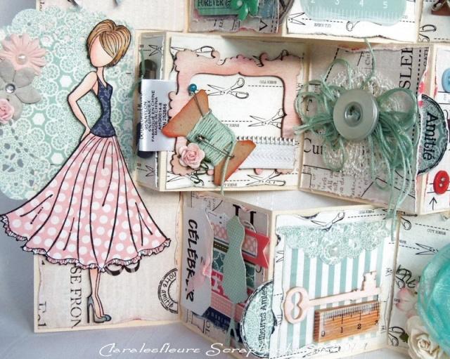 Kit du mois - Carterie : Sew Lovely Claral23