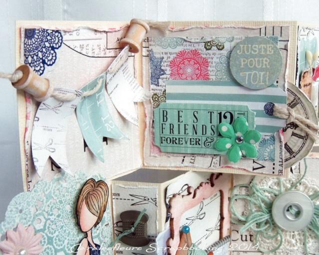 Kit du mois - Carterie : Sew Lovely Claral24