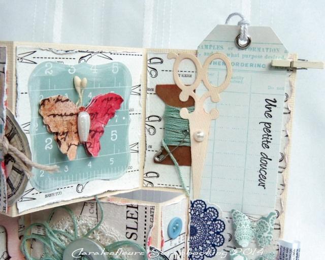 Kit du mois - Carterie : Sew Lovely Claral26