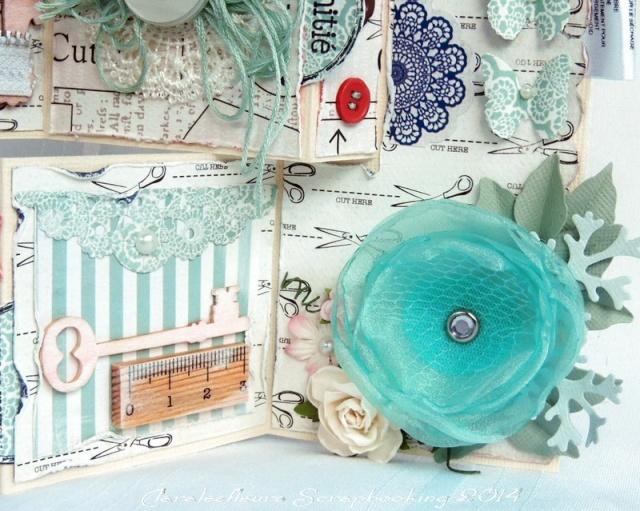 Kit du mois - Carterie : Sew Lovely Claral27